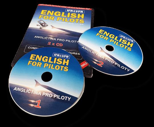 Angličtina pro piloty - CD verze