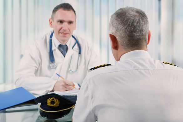 Pohlídka u leteckého lékaře