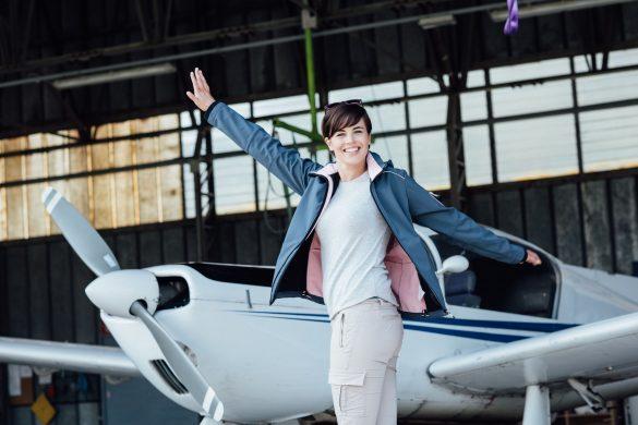 Šťastná pilotka
